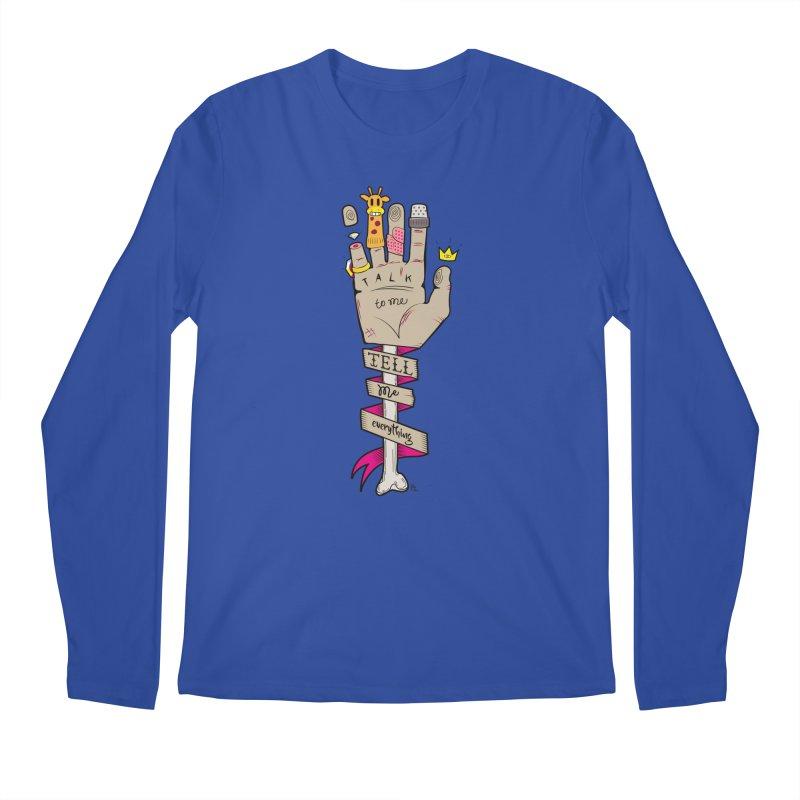 Tell me Everything Men's Regular Longsleeve T-Shirt by Kika