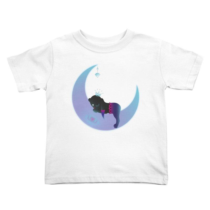Moon-Dream Kids Toddler T-Shirt by Kika