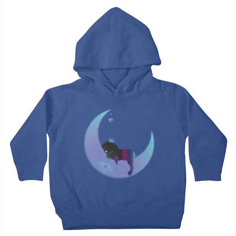 Moon-Dream Kids Toddler Pullover Hoody by Kika