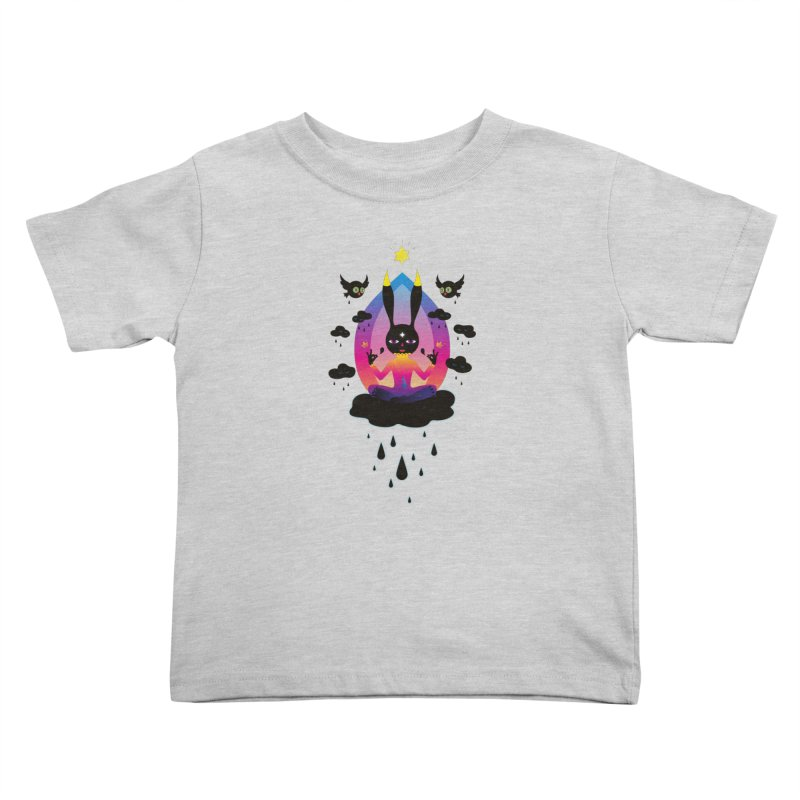 Black Rain Kids Toddler T-Shirt by Karina Zlott