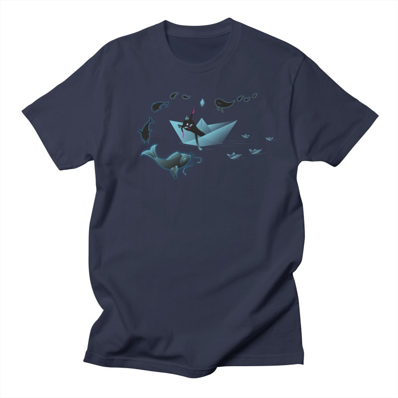 Sailing away Men's Regular T-Shirt by Kika