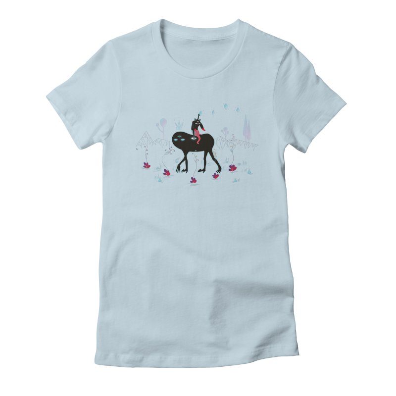 Mission Women's Fitted T-Shirt by Kika