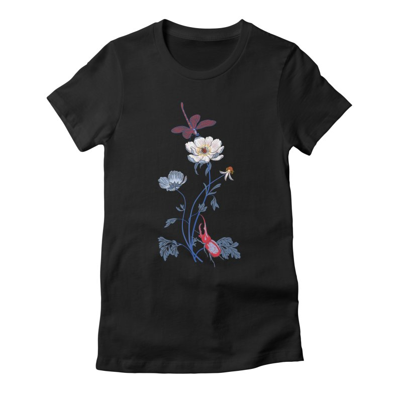 Spring Blast 1 Women's Fitted T-Shirt by Kika