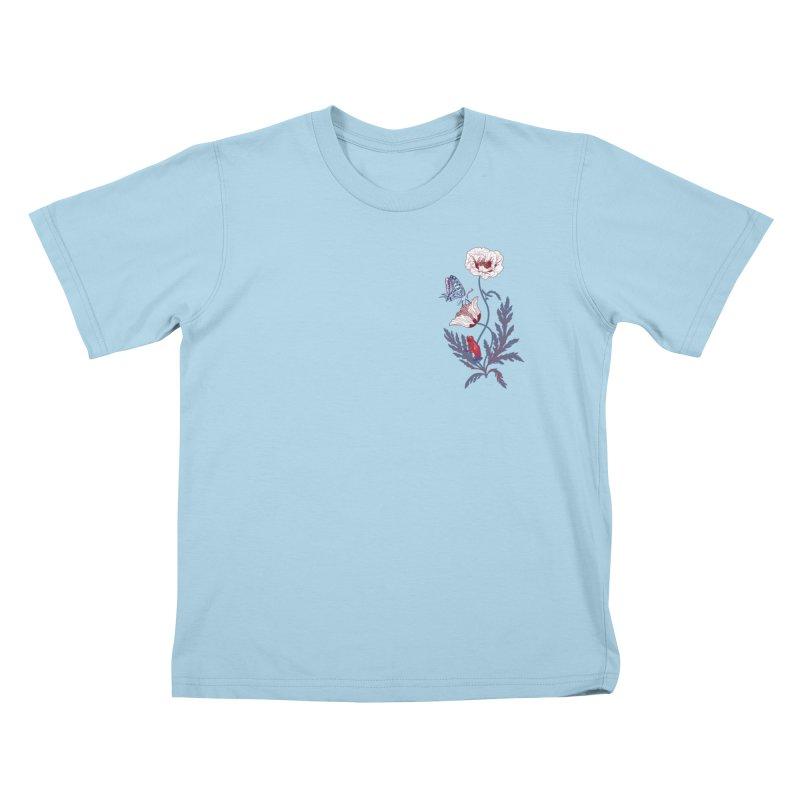 Spring Blast 2 Kids T-Shirt by Karina Zlott