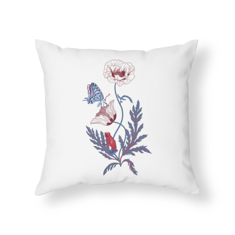 Spring Blast 2 Home Throw Pillow by Kika
