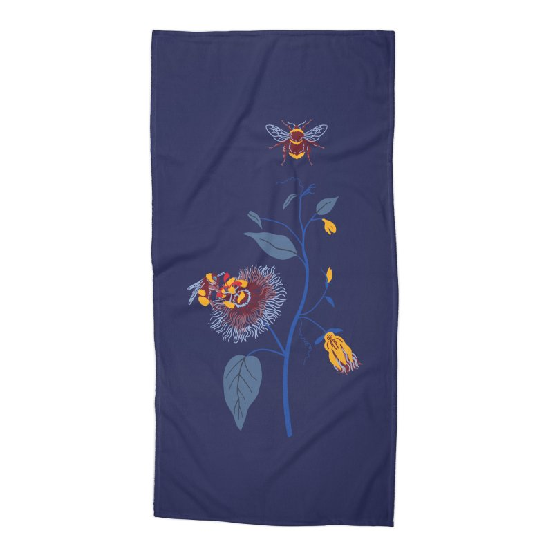 Spring Blast 3 Accessories Beach Towel by Karina Zlott