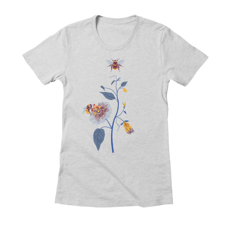 Spring Blast 3 Women's Fitted T-Shirt by Kika