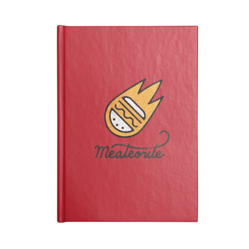 Meateorite Accessories Notebook by Karina Zlott