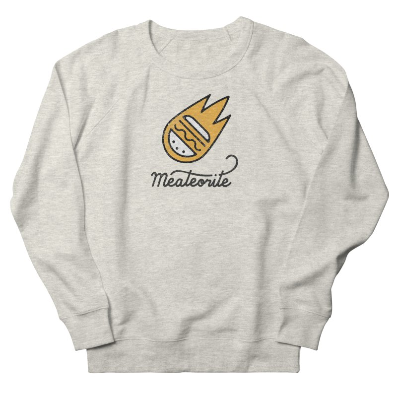 Meateorite Men's Sweatshirt by Kika