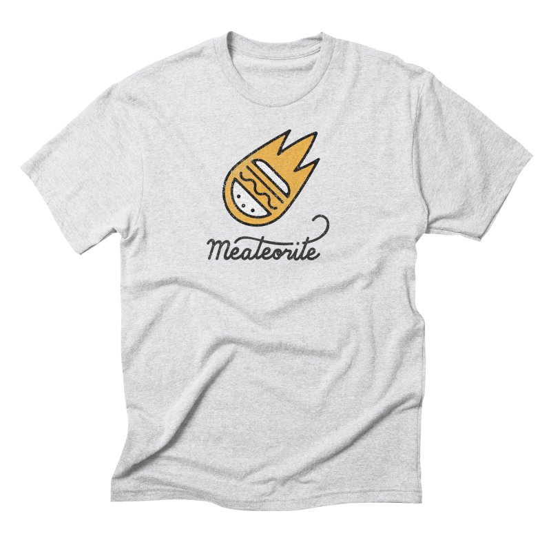 Meateorite Men's T-Shirt by Kika