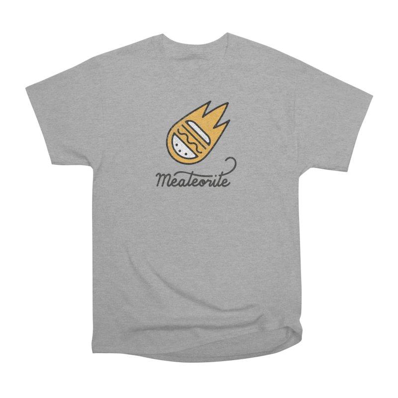 Meateorite Men's Heavyweight T-Shirt by Karina Zlott