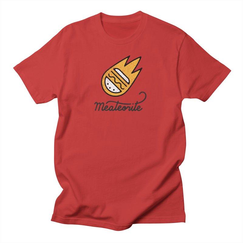 Meateorite Men's Regular T-Shirt by Kika