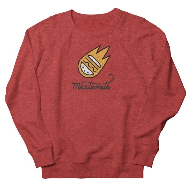 Meateorite Women's French Terry Sweatshirt by Kika