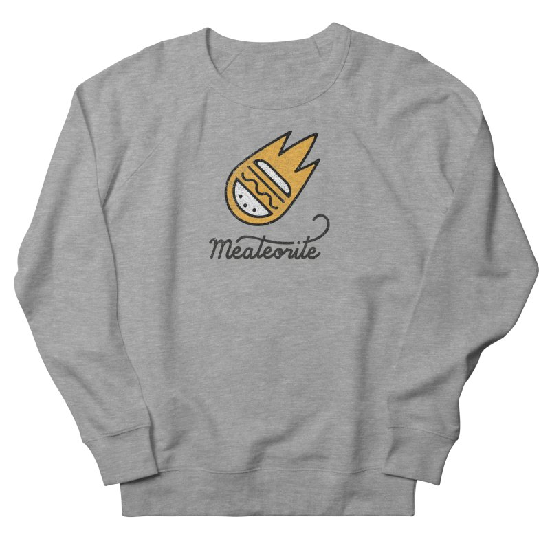 Meateorite Men's French Terry Sweatshirt by Karina Zlott