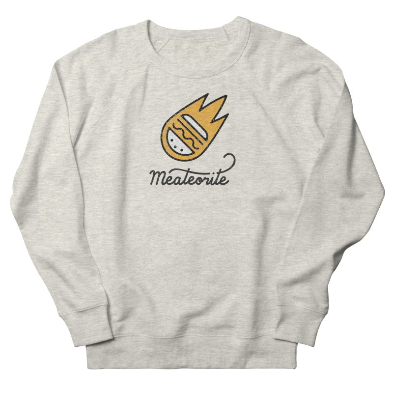 Meateorite Men's Sweatshirt by Kika