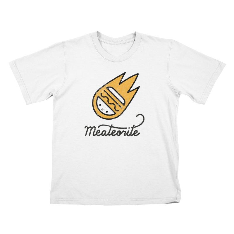 Meateorite Kids T-Shirt by Karina Zlott
