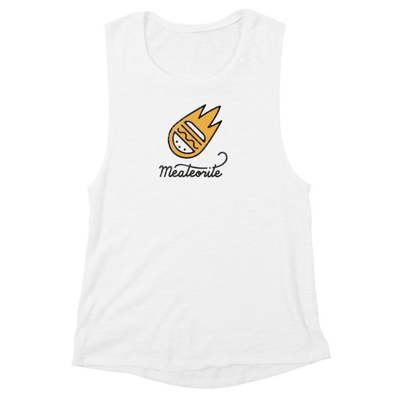 Meateorite Women's Muscle Tank by Karina Zlott