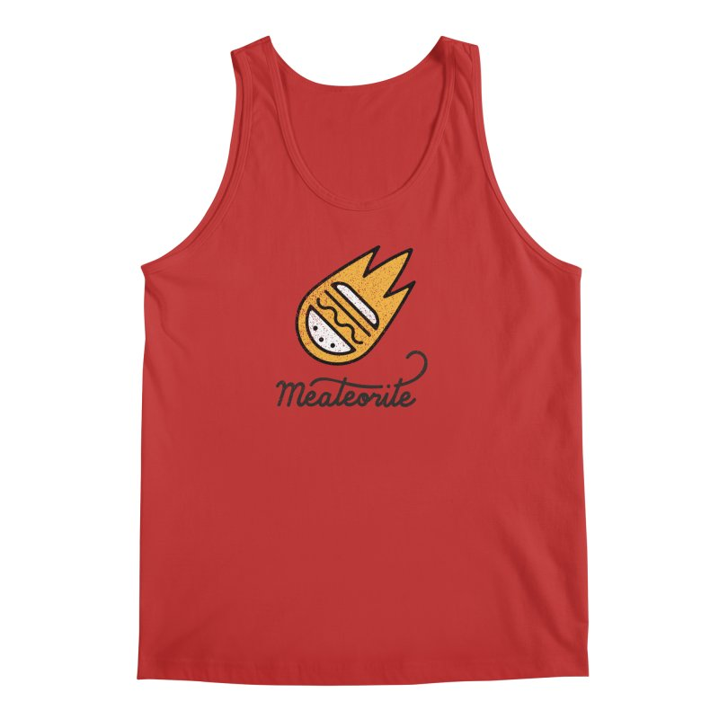 Meateorite Men's Regular Tank by Karina Zlott