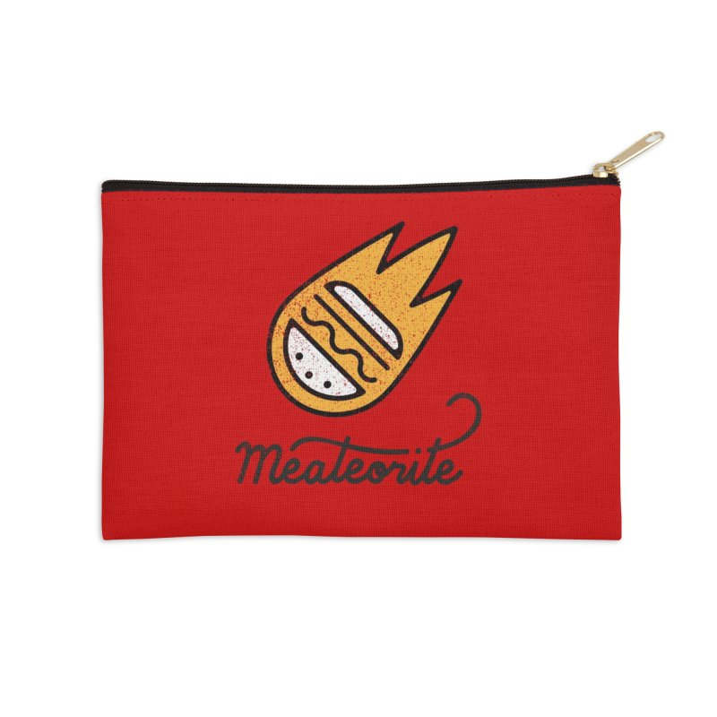 Meateorite Accessories Zip Pouch by Karina Zlott
