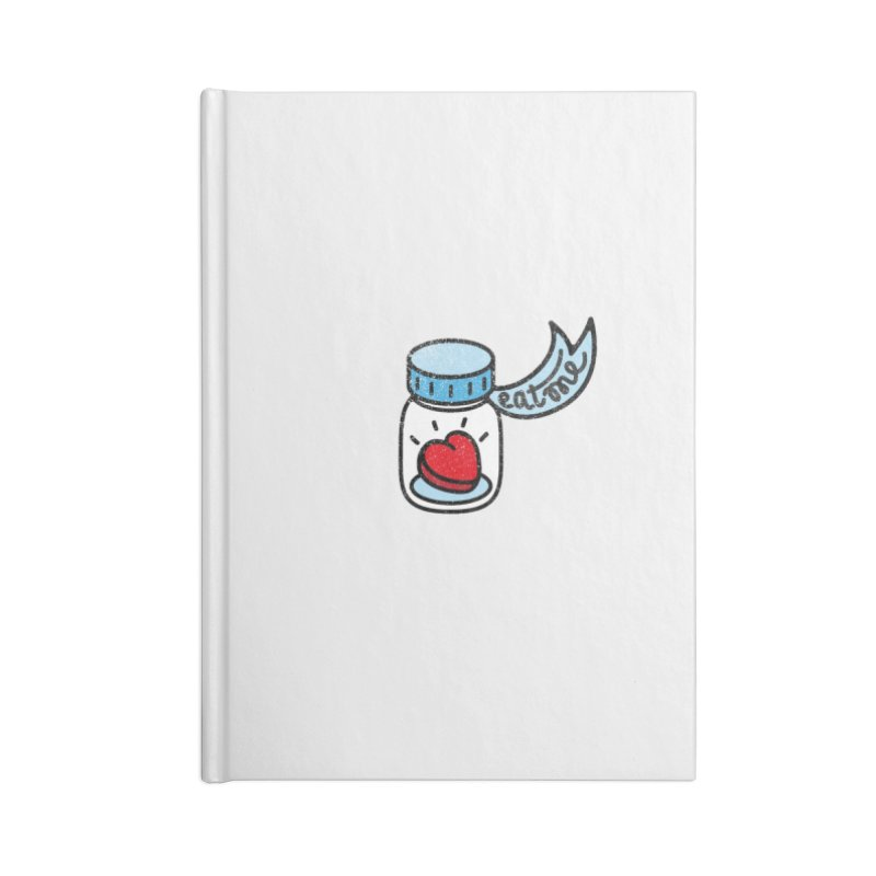 Eat Me Accessories Notebook by Karina Zlott