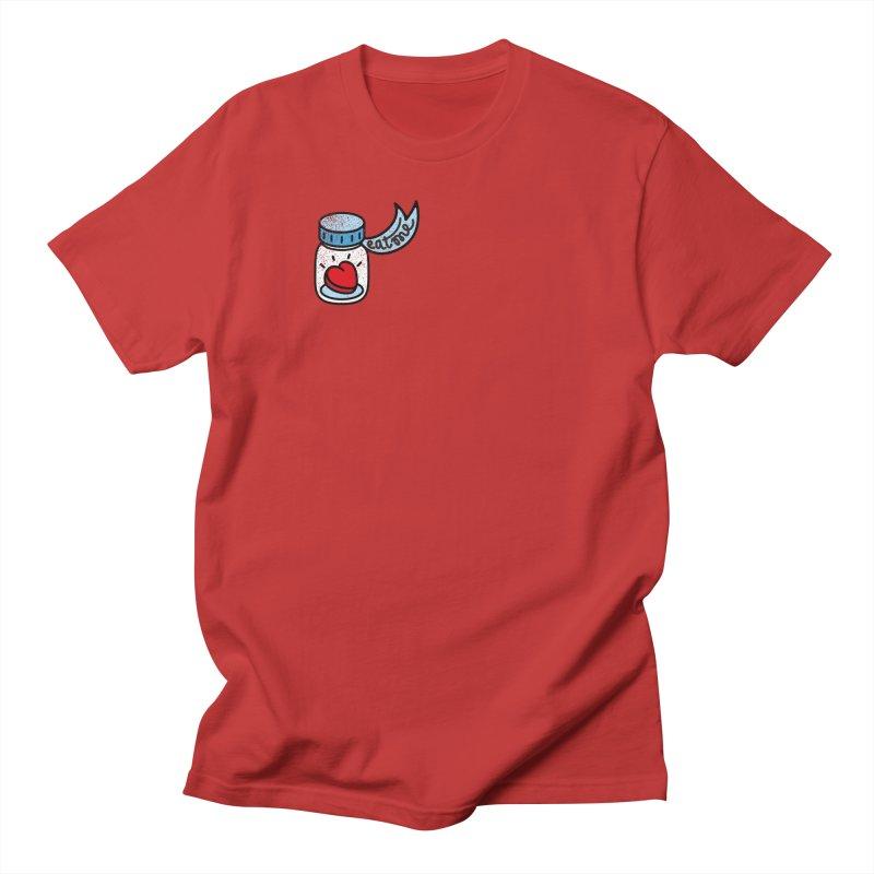 Eat Me Men's Regular T-Shirt by Karina Zlott