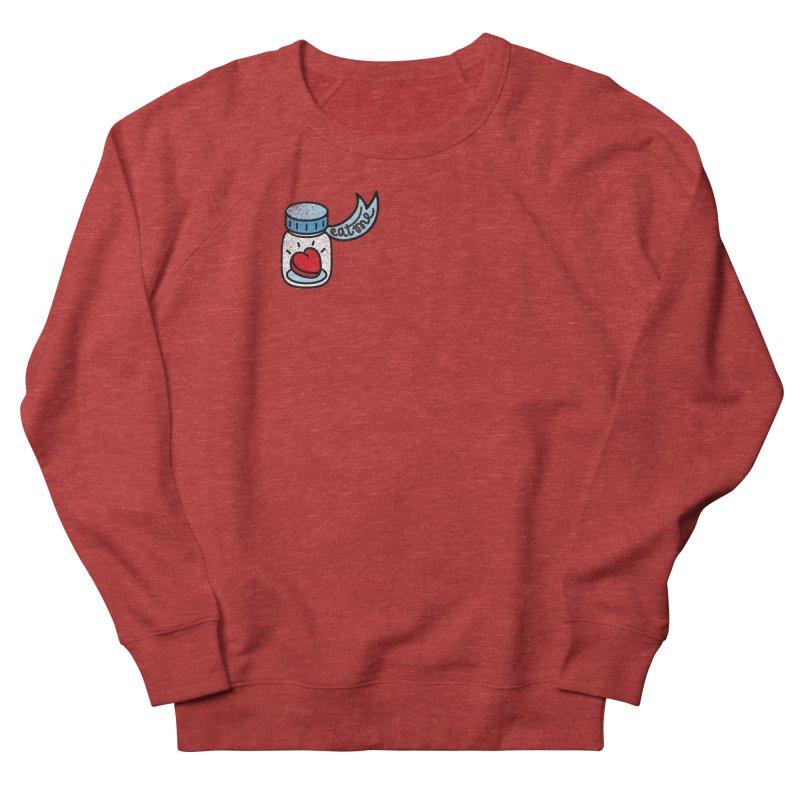 Eat Me Women's French Terry Sweatshirt by Karina Zlott