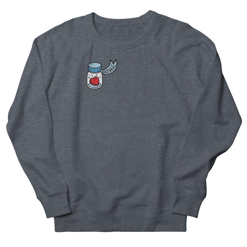 Eat Me Men's French Terry Sweatshirt by Karina Zlott