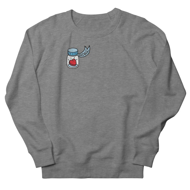 Eat Me Men's French Terry Sweatshirt by Kika