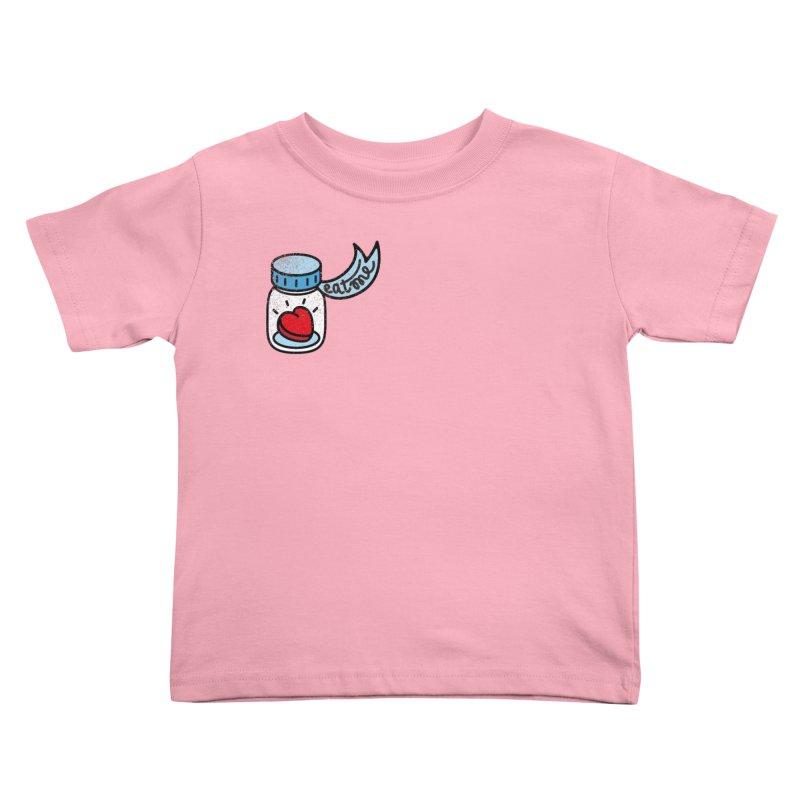 Eat Me Kids Toddler T-Shirt by Karina Zlott