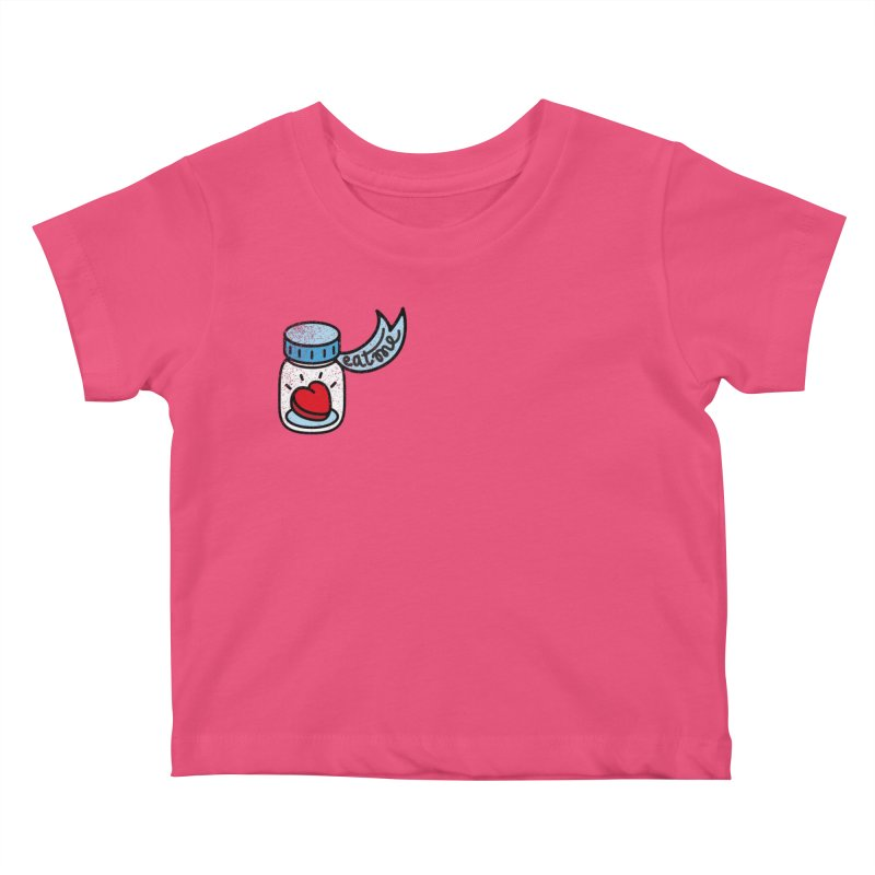 Eat Me Kids Baby T-Shirt by Kika