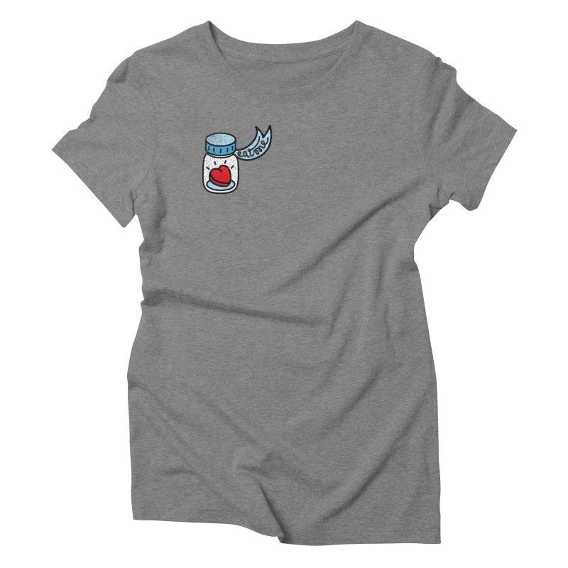 Eat Me Women's Triblend T-Shirt by Karina Zlott