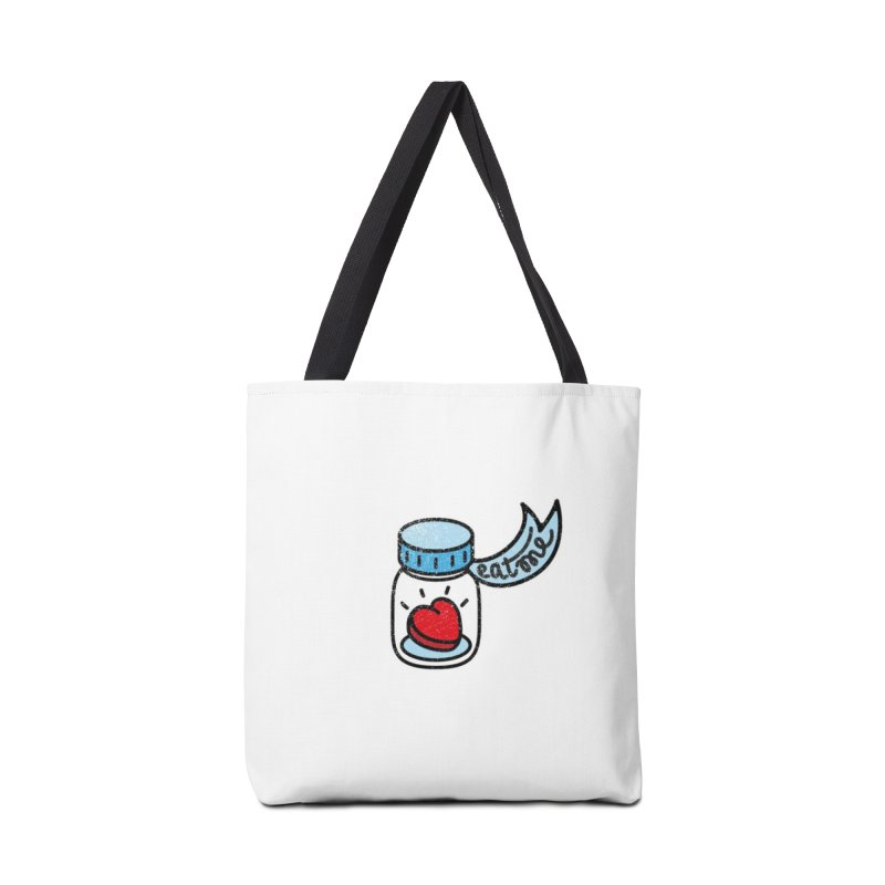 Eat Me Accessories Tote Bag Bag by Kika