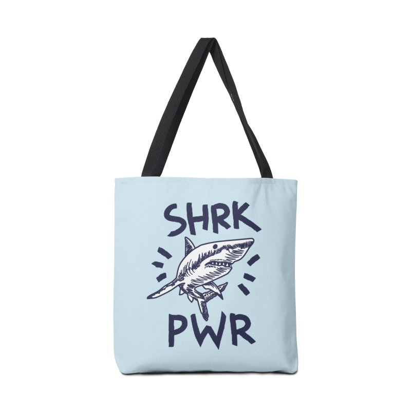 SHRK PWR Accessories Tote Bag Bag by Kika