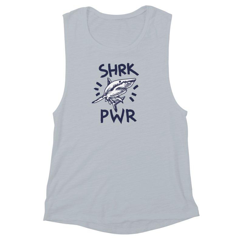 SHRK PWR Women's Muscle Tank by Karina Zlott