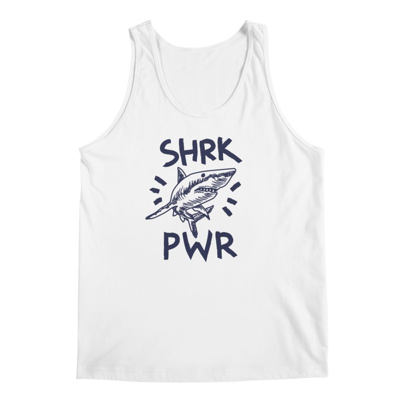 SHRK PWR Men's Regular Tank by Karina Zlott