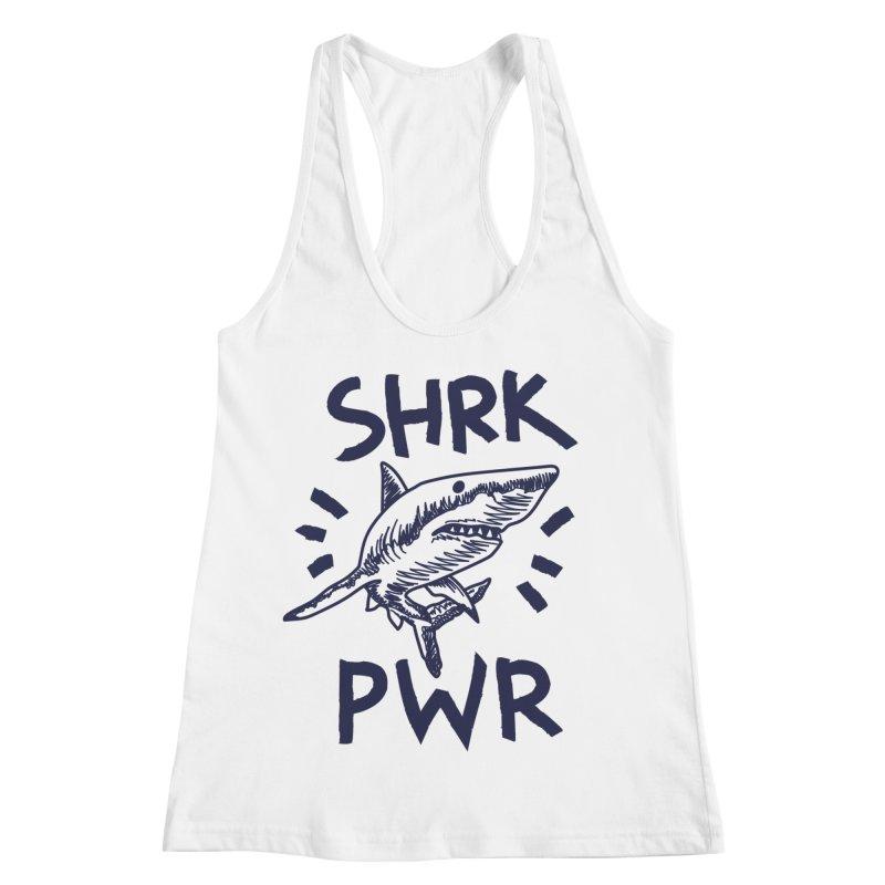 SHRK PWR Women's Racerback Tank by Kika