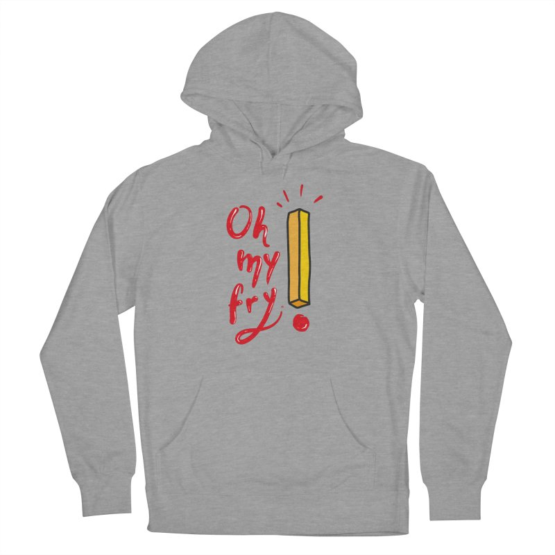 Oh my fry! Men's French Terry Pullover Hoody by Kika