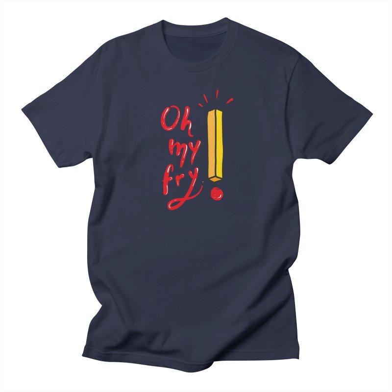 Oh my fry! Men's Regular T-Shirt by Karina Zlott