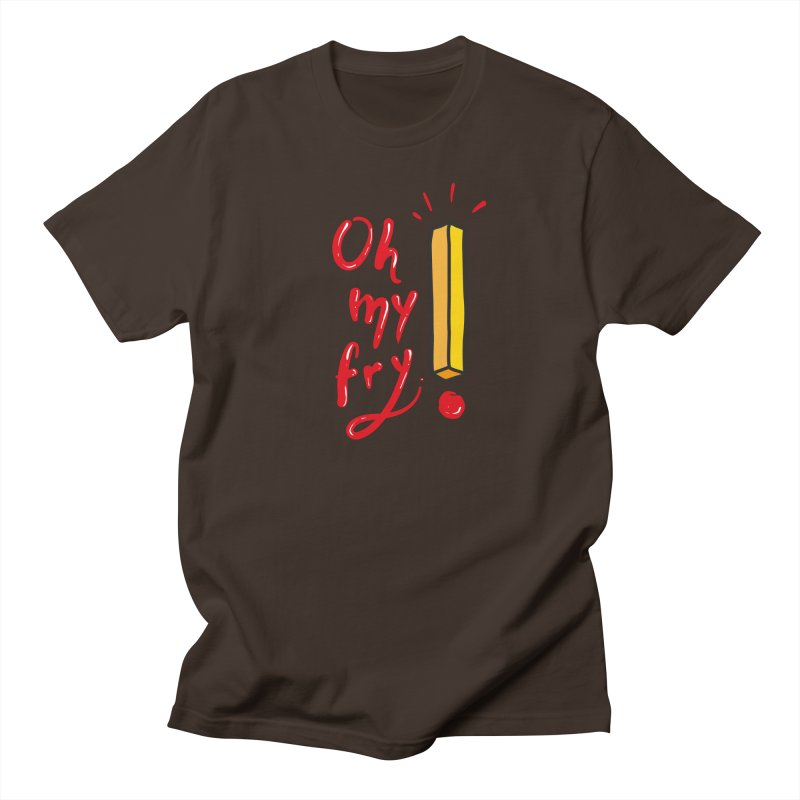 Oh my fry! Men's Regular T-Shirt by Kika