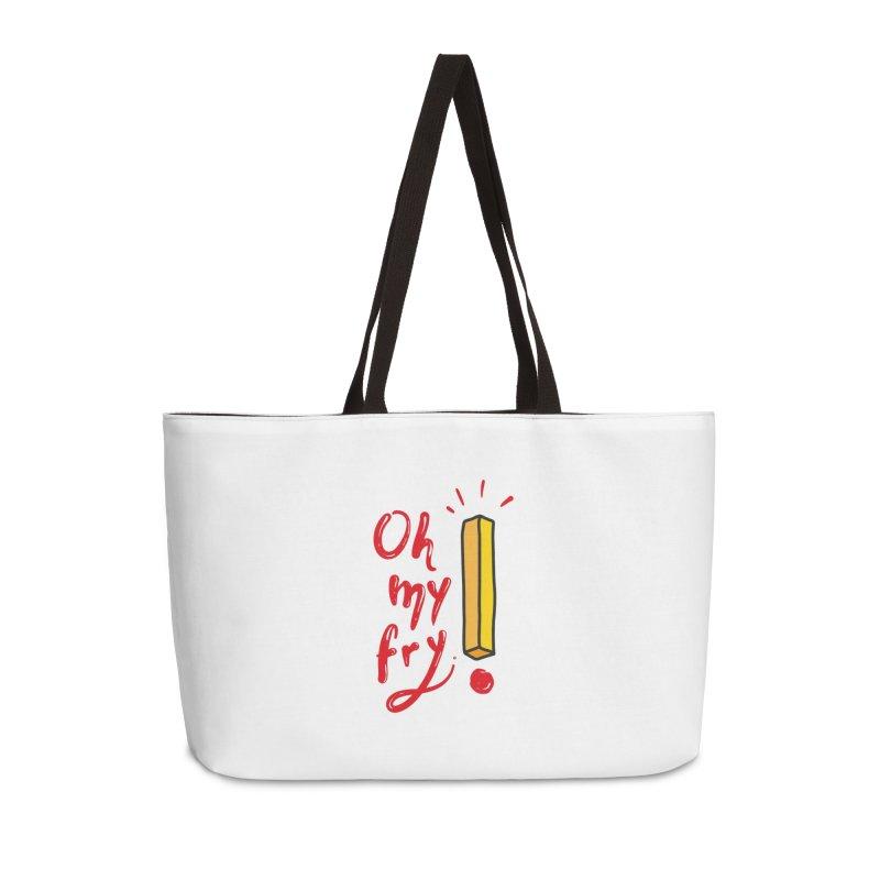 Oh my fry! Accessories Weekender Bag Bag by Kika