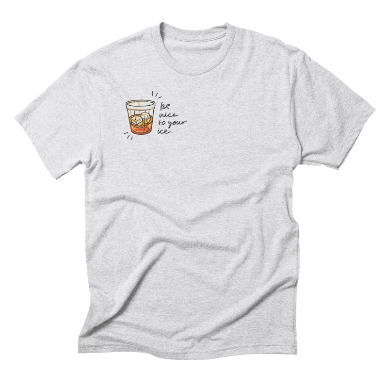 Be nice to your ice Men's T-Shirt by Karina Zlott