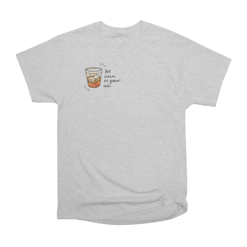 Be nice to your ice Men's Heavyweight T-Shirt by Karina Zlott