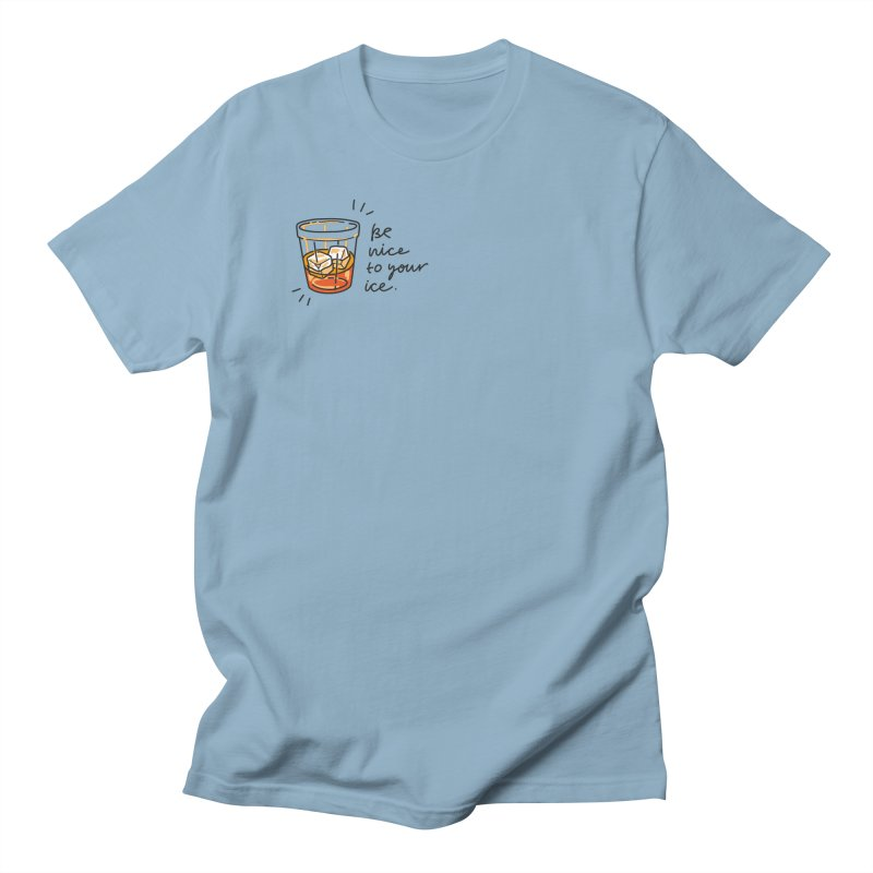 Be nice to your ice Men's Regular T-Shirt by Kika