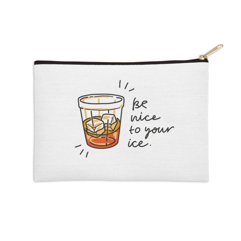 Be nice to your ice Accessories Zip Pouch by Kika