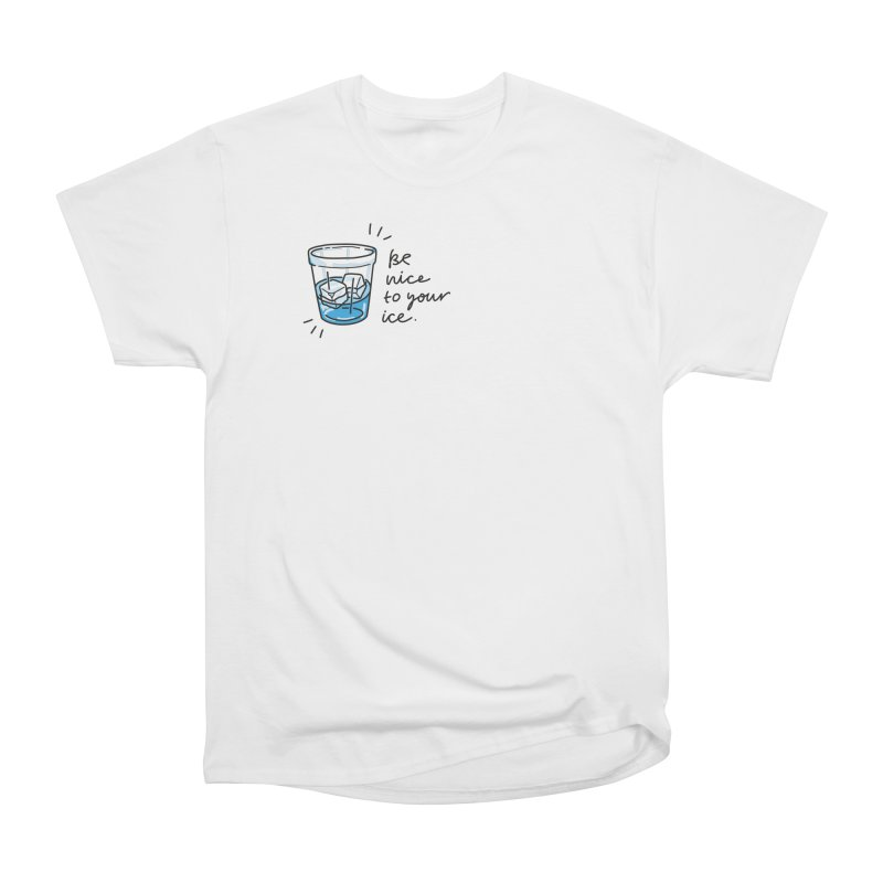 Be nice to your ice 2 Men's T-Shirt by Kika