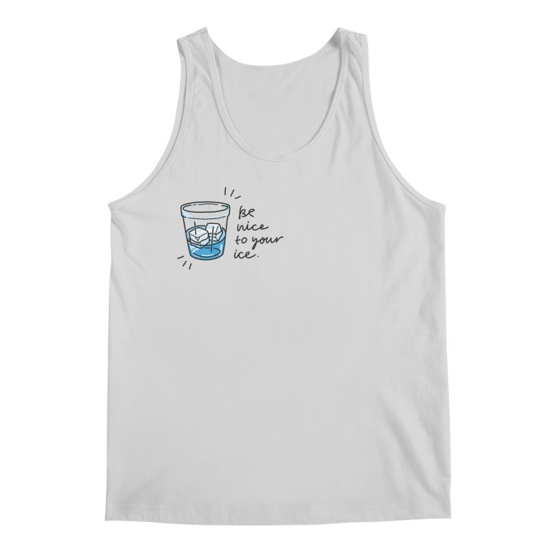 Be nice to your ice 2 Men's Regular Tank by Kika