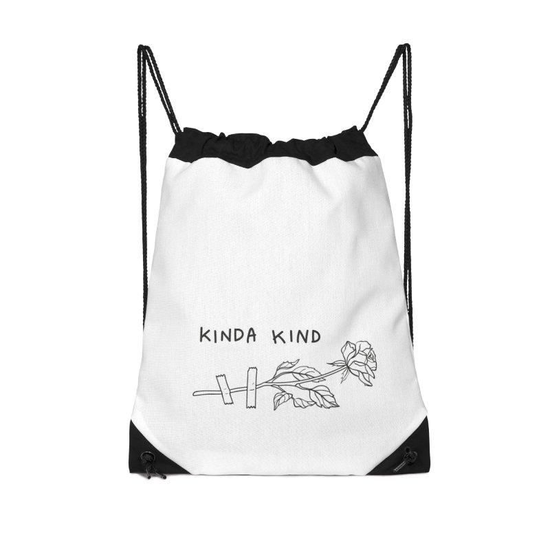 Kinda Kind Accessories Drawstring Bag Bag by Kika