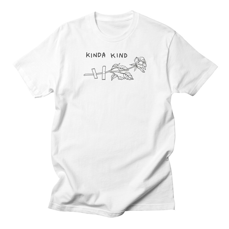 Kinda Kind Women's Regular Unisex T-Shirt by Karina Zlott
