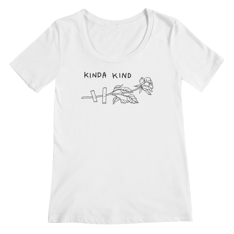 Kinda Kind Women's Regular Scoop Neck by Karina Zlott