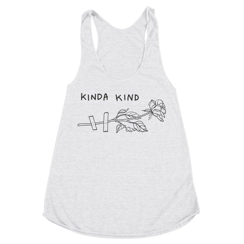 Kinda Kind Women's Racerback Triblend Tank by Kika